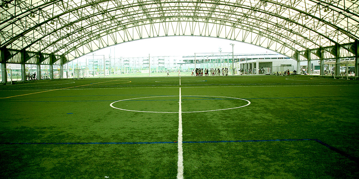 Futsal fields (covered)